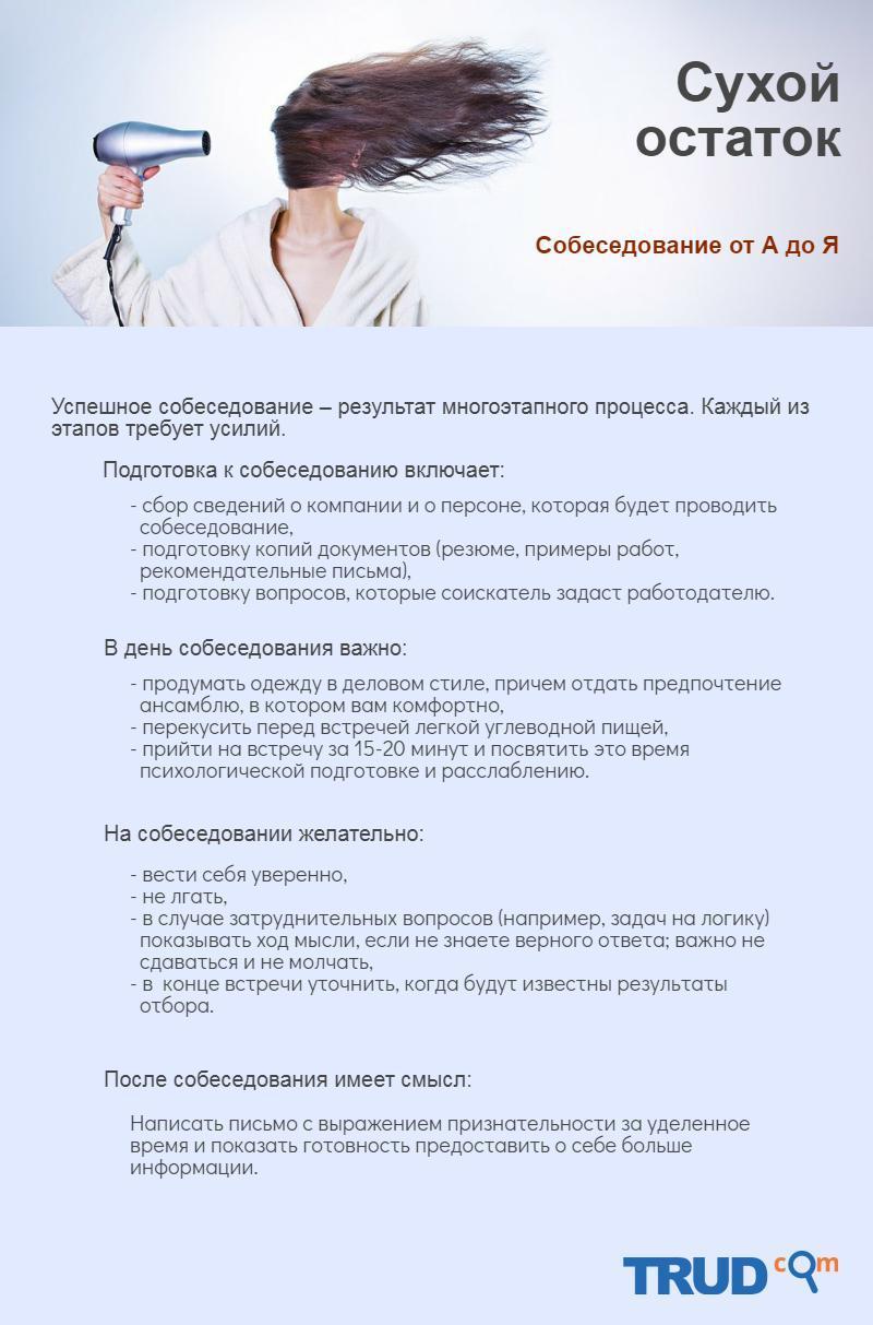 """Инфографика на тему """"Все этапы собеседования, подготовка и что делать после собеседования"""""""