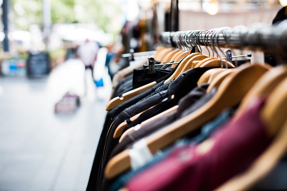 Магазин одежды, бутик, одежда